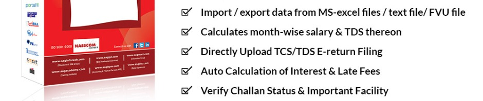 How to File TDS Returns Through Gen TDS Software?   SAG Infotech: CA